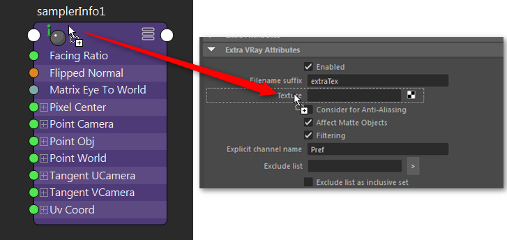 Create Position Reference (Pref) Pass in Vray for Maya – Erwan Leroy